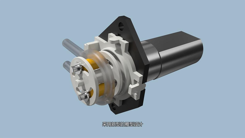 蠕动泵原理_远望蠕动泵 - 产品动画 - 常州雷奥视觉科技有限公司